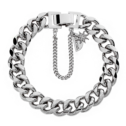 Little Star Point Silver Chain Bracelet
