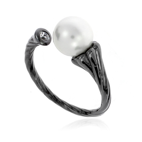 Pearl Cubic Ring DRCP005B