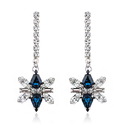 Montana Decalcomanie Crystal Long Earring