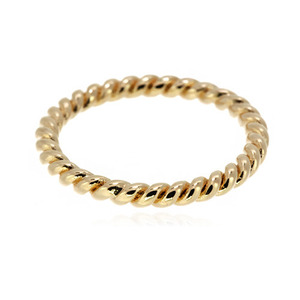 [마디반지]Gold Twist Knuckle Ring