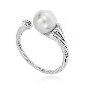 Pearl Cubic Ring DRCP005S