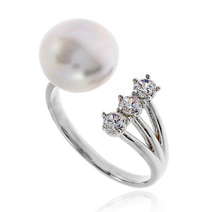 Pearl Cubic Ring DRCP010S