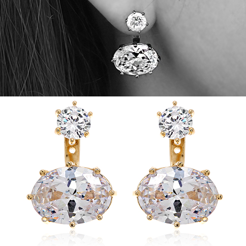 Cubic Earring DEC510G