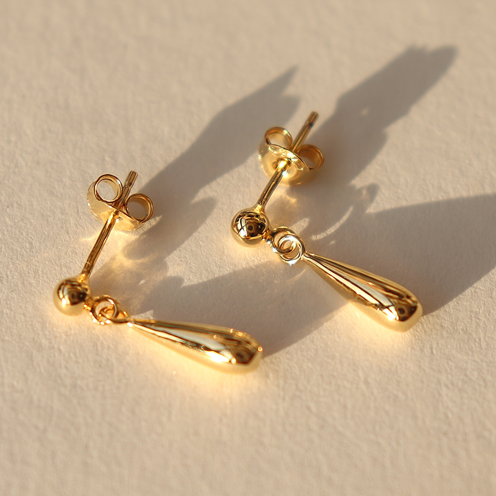 [925Silver] Simple Drop Earring(sve501)